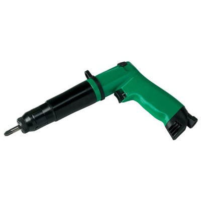 "ASG CDE5PRA - Fiam CDE Series Inline 0.25"" Hex Pneumatic Screwdriver - Push-to-Start - 26.55 to 44.25 lbf.in - 2000 RPM"