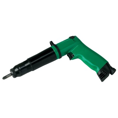 "ASG CDE12PRA - Fiam CDE Series Pistol Grip 0.25"" Hex Pneumatic Screwdriver - Push-to-Start - 26.55 to 106.2 lbf.in - 700 RPM"