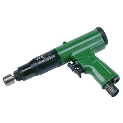 "ASG CY9PR1 - Fiam CY Series Pistol Grip 0.25"" Hex Pneumatic Screwdriver - Push/Trigger Start - 6 to 16 N.m - 700 RPM"