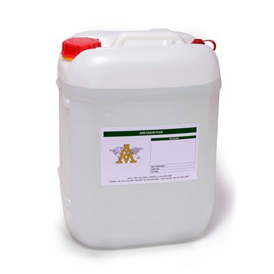 AIM Solder 19115 - NC265LR-5G No-Clean Liquid Flux - 5 Gallon Pail
