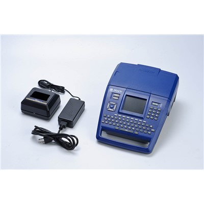 Brady BMP71-QC - BMP71 Portable Thermal Label Printer w/Quick Charger - 300 DPI