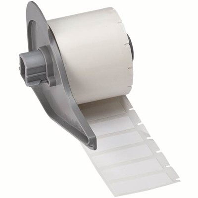 "Brady M71-29-499 - B-499 BMP71 Nylon Cloth Labels - 1.5"" x 0.5"" - 500/Roll"