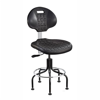 "Bevco 7200-BK - Everlast 7000 Series Ergonomic Chair - Polyurethane - 18""-23"" - Black"