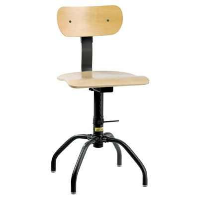 "Bevco 1200 - Plywood 1000 Series Stationary Chair - Adj. Back - 16""-24"""