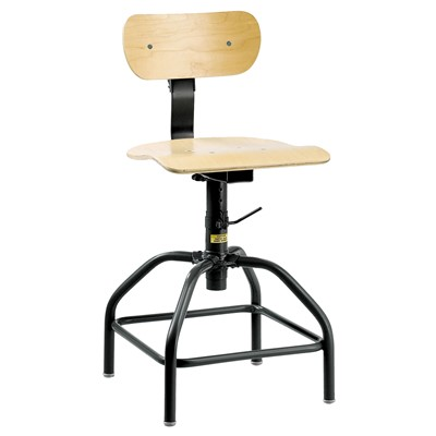 "Bevco 1400 - Plywood 1000 Series Stationary Chair - Adj. Back & Footrest - 20""-28"""