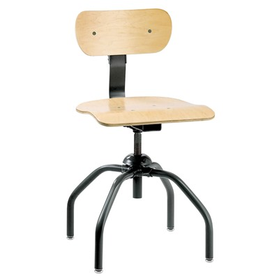 "Bevco 1260 - Plywood 1000 Series Swivel II Chair - Adj. Back - 16""-21"""