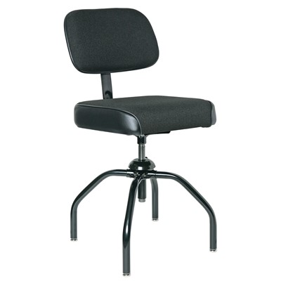 "Bevco 2000/4-BK - Evanston 2000 Series Upholstered Chair - Adj. Back - 19""-24"" - Black"