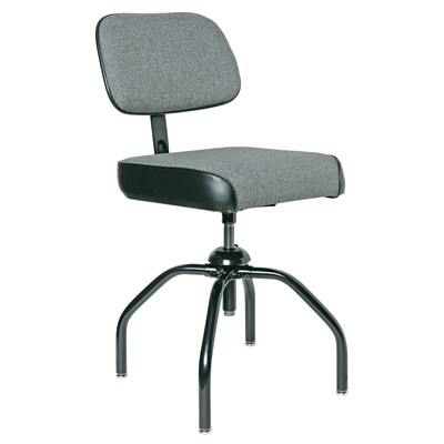 "Bevco 2000/4-GY - Evanston 2000 Series Upholstered Chair - Adj. Back - 19""-24"" - Gray"