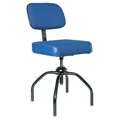 "Bevco 2000/4-BL - Evanston 2000 Series Upholstered Chair - Adj. Back - 19""-24"" - Blue"