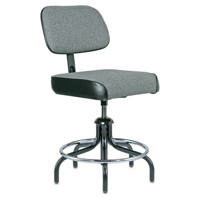 "Bevco 2200/5-GY - Evanston 2000 Series Upholstered Chair - Adj. Back & Footring - 19""-24"" - Gray"