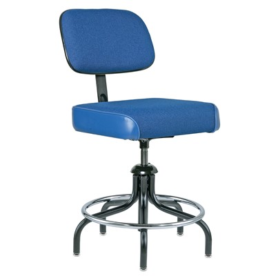"Bevco 2200/5-BL - Evanston 2000 Series Upholstered Chair - Adj. Back & Footring - 19""-24"" - Blue"