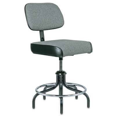 "Bevco 2300/5-GY - Evanston 2000 Series Upholstered Chair - Adj. Back & Footring - 19""-26"" - Gray"