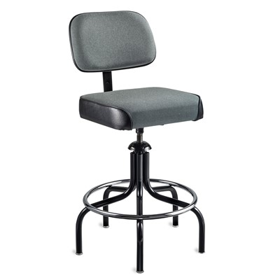 "Bevco 2700/5-GY - Evanston 2000 Series Upholstered Chair - Adj. Back & Footring - 24""-31"" - Gray"