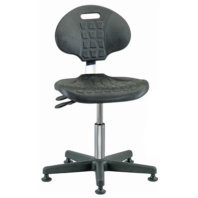 Bevco%207001C1%20-%20Everlast-CR%207000CR%20Series%20Ergonomic%20Clean%20Room%20Chair%20w%2FArticulating%20Tilt%20Seat%20%26%20Back%20-%20Polyurethane%20-%2015%22-20%22%20-%20Mushroom%20Glides