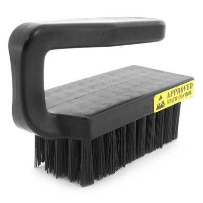 "Botron B09927 - Conductive Brush - 3.75"" - Black"