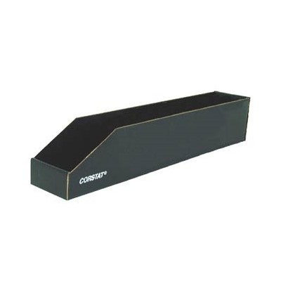 "Conductive Containers (CCI) 1052 - Corstat™ Open Bin - ESD-Safe - 18"" x 4"" x 4.5"" - 50/Set"