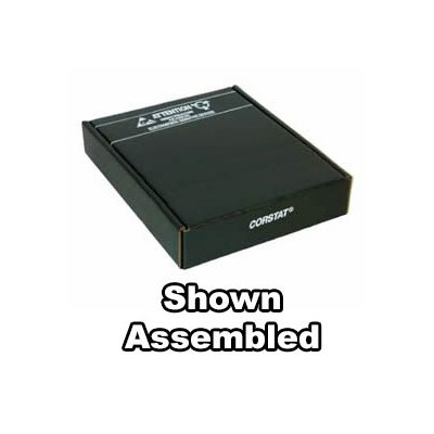 "Conductive Containers (CCI) 3525-14C - CorRec-Pak® Shipping Box Only (Shipped Flat) - ESD-Safe - 16"" x 12.25"" x 3.5"" - 25/Set"