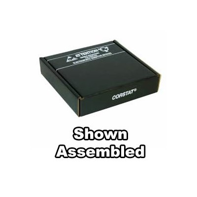 "Conductive Containers (CCI) 3230-6C - CorRec-Pak® Shipping Box Only (Shipped Flat) - ESD-Safe - 10.5"" x 8.5"" x 2.5"" - 50/Set"