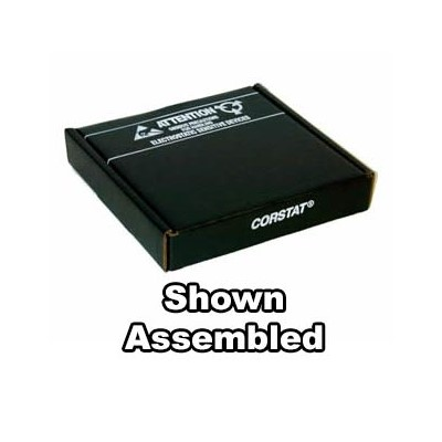 "Conductive Containers (CCI) 3180-3C - CorRec-Pak® Shipping Box Only (Shipped Flat) - ESD-Safe - 9"" x 7.5"" x 1.5"" - 50/Set"