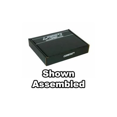 "Conductive Containers (CCI) 3500-10C - CorRec-Pak® Shipping Box Only (Shipped Flat) - ESD-Safe - 15.5"" x 12.5"" x 2.5"" - 25/Set"