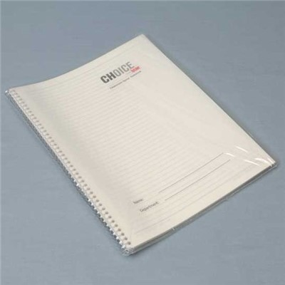 "Berkshire CHNBK.0508SR.40 - Choice Series Spiral-Bound Cleanroom Notebook - 5.5"" x 8.5"" College Rule - 40 Per Case (100 Pages/Notebook)"