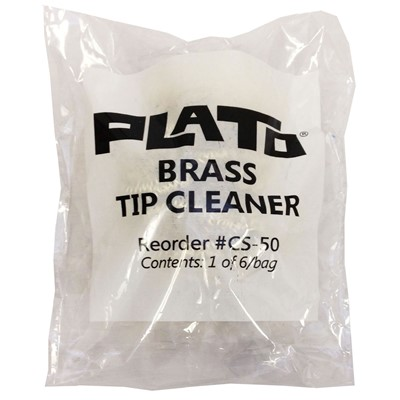 Plato CS-50 - Brass Waterless Tip Cleaner