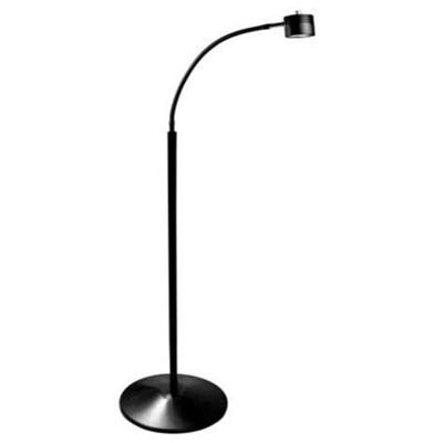 Dazor Led Fa25ws Bk Ecoflex Led Lamp W Pedestal Floor