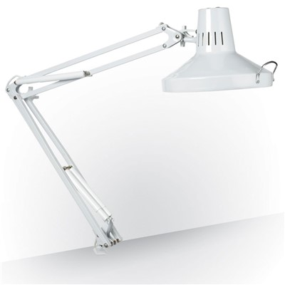 Daylight Company U32100-01 - Combo Fluorescent/Incandescent Task Lamp - White