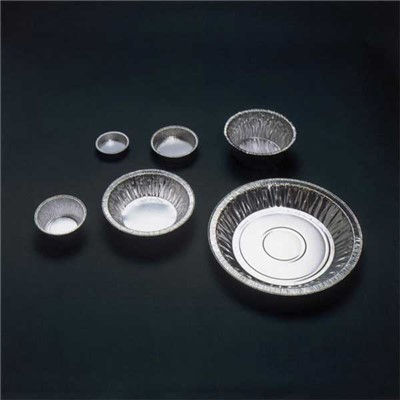 Eagle Thermoplastics (ETI) D75-100 - General Purpose Disposable Aluminum Weighing Dish - Round - 75 ml - 100/Pack