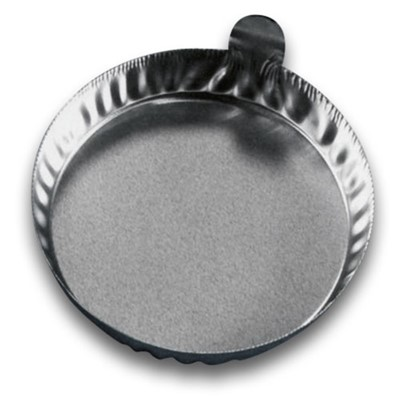 Eagle Thermoplastics (ETI) D70-100 - Disposable Aluminum Dish w/Tabs - Round - 80 ml - 100/Pack