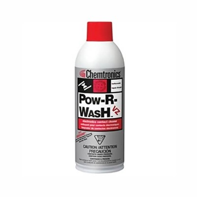 Chemtronics ES6300 - Pow-R-Wash VZ Contact Cleaner - 12 oz. - 12 Cans/Case