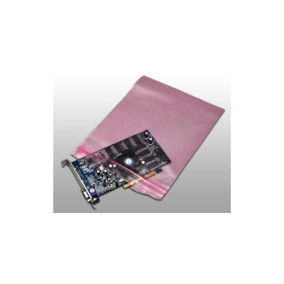 "Elkay Plastics FASST41824 - Pink Anti-Static Seal Top Bags - 4 Mil - LDPE - 18"" x 24"" - 250/Case"