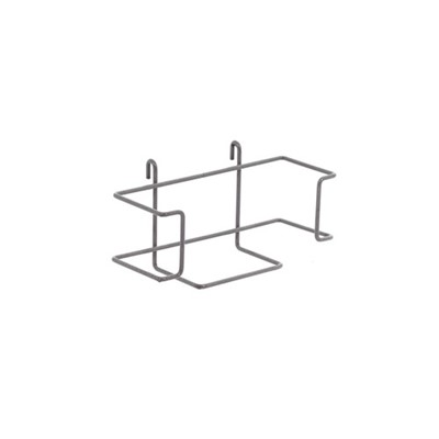 InterMetro Industries (Metro) GBHHK4-S - Horizontal Single Glove Box Holder for Super Erecta Wire Shelving and SmartWall Wall Shelving
