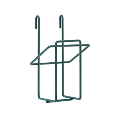 InterMetro Industries (Metro) GBHVK3 - Vertical Single Glove Box Holder for Super Erecta Wire Shelving and SmartWall Wall Shelving - Metroseal Green Epoxy