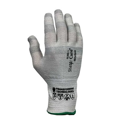 Transforming Technologies StaticCare GL2500 Series ESD Cut-Resistant Gloves - Uncoated - 12/Pack