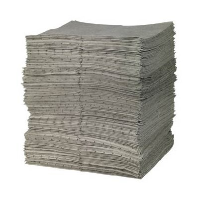 "Brady GP200-B - Bagged GP ""General Purpose"" Light Weight Absorbent Pad - Perforated - 15"" x 19"" - 200/Bale"