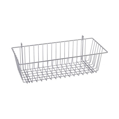 "InterMetro Industries H210K4 - Wire Basket  - 17.375"" x 7.5"" x 5"""