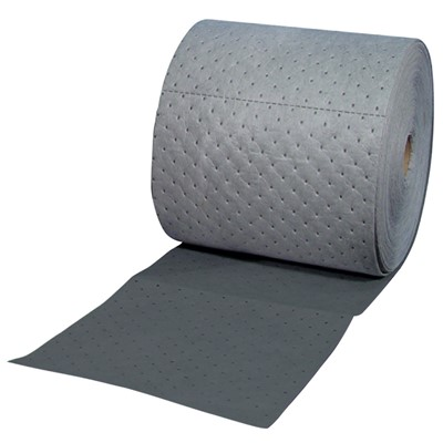 "Brady HT550 - HT ""High Traffic"" Heavy Weight Absorbent Roll - Perforated - 15"" x 50"