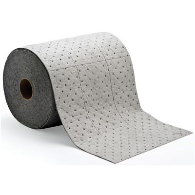 "Brady HT555 - HT ""High Traffic"" Heavy Weight Absorbent Roll - Perforated - 15"" x 150"