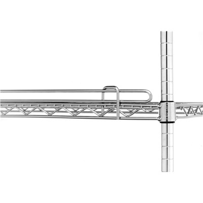 "InterMetro Industries (Metro) L36N-1C - Super Erecta® Shelf Ledge - 36"" x 1"" - Chrome"