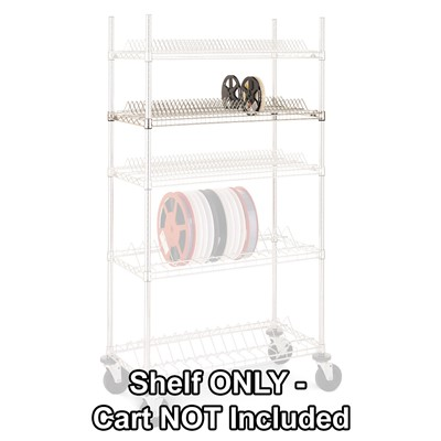 InterMetro Industries (Metro) R1836BR-7 - Super Erecta® Wire Reel Shelves - 78 Reel Capacity