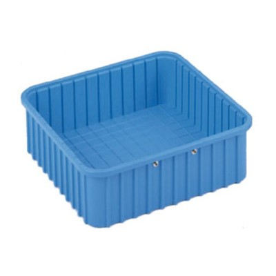 "InterMetro Industries (Metro) TB91035BAS - Benstat™ Static Dissipative Divider Tote Box - I.D. 9.187"" x 6.5625"" x 3"" (O.D. 10.875"" x 8.25"" x 3.5"") - Blue"