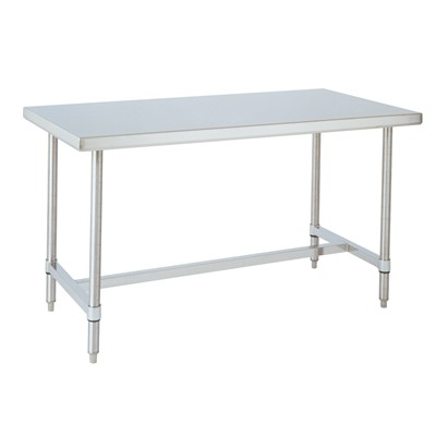 "InterMetro Industries (Metro) WT306HS - HD Super™ Work Table w/H-Frame - 30"" x 60"" - Stainless Steel"