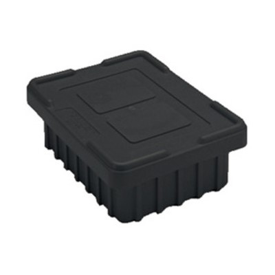 InterMetro Industries (Metro) CO92000CAS - Bentron™ Conductive Snap-On Tote Box Cover - Fits Metro TB92000 Series Divider Tote Boxes - Black