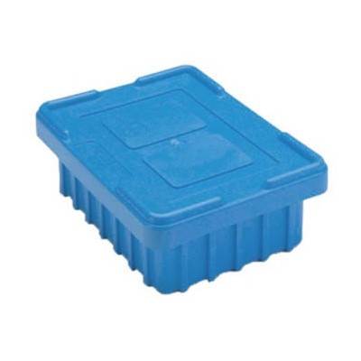 InterMetro Industries (Metro) CO92000BAS - Benstat™ Static Dissipative Snap-On Tote Box Cover - Fits Metro TB92000 Series Divider Tote Boxes - Blue