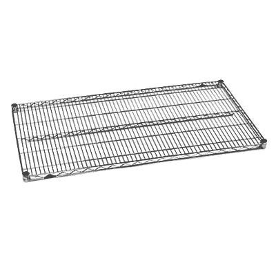 "InterMetro Industries (Metro) 1430N-DSG - Super Erecta® Wire Shelf - 14"" x 30"" - Smoked Glass (Gray)"