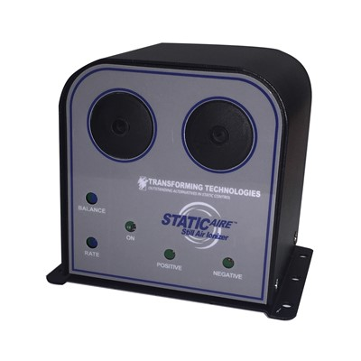 "Transforming Technologies IN1000 - StaticAIRE Bench Top Still Air Ionizer - 5"" x 2.5"" x 5.5"""
