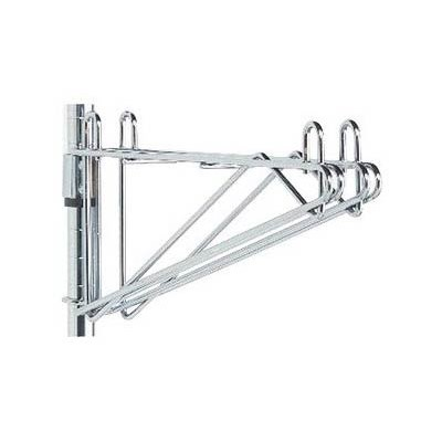"Olympic Storage Co. J2WD18C - 18"" Double Wall Mount Bracket for Adjoining Shelves - Chromate Finish"