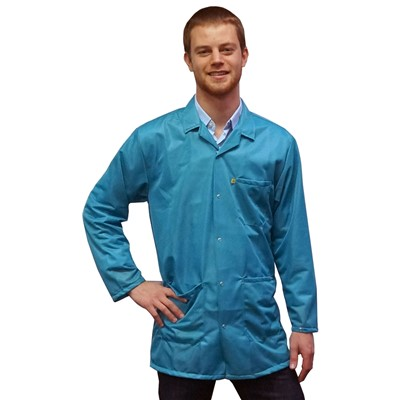 Transforming%20Technologies%209010%20Series%20ESD%20Jackets%20-%20Collared%20-%20Snap%20Cuff%20-%20Teal