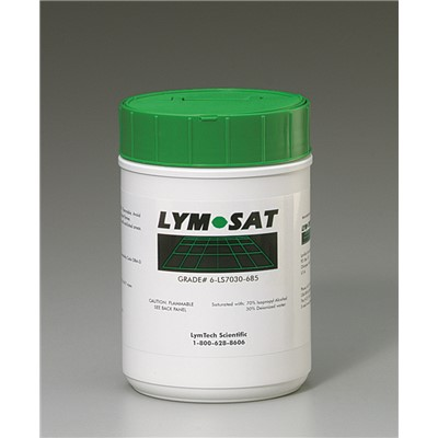 "FG Clean Wipes (Formerly Essentra Porous Technologies) 6-LS7030-685 - LYMSAT® Wipe - 70% IPA/30% DI - 6"" x 8.5"" - 1 Canister w/11 Refills"